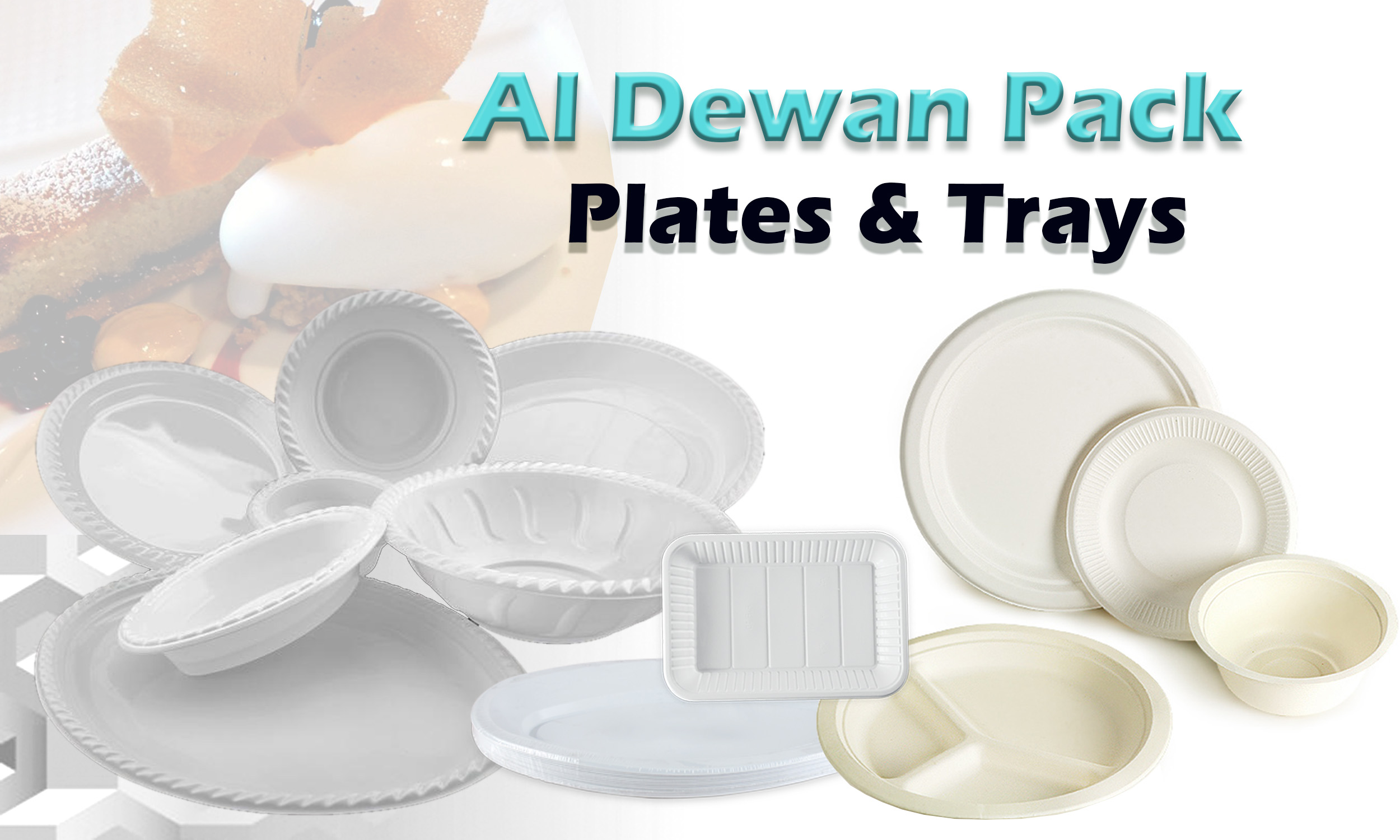 Plates and Tray